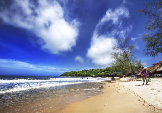 Пляжний відпочинок в Камбоджі