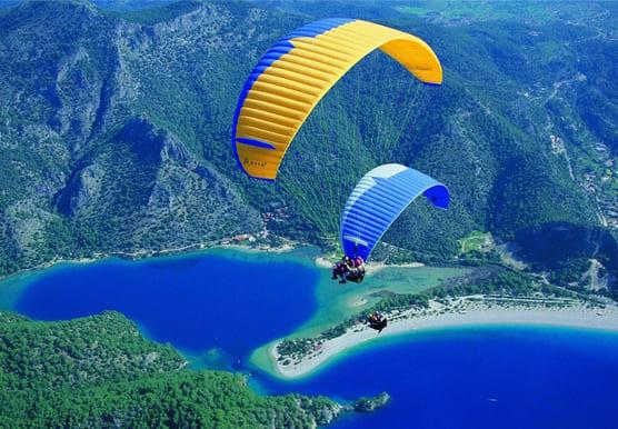 Парапланеризм в Туреччині