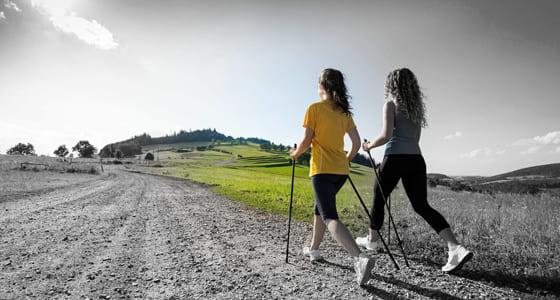 Уроки скандинавської ходьби для туристів